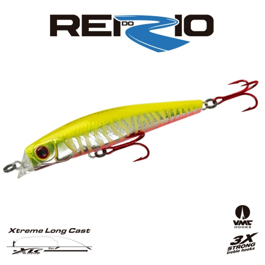 Isca marine sports rei do rio minnow 120 n8 cromado