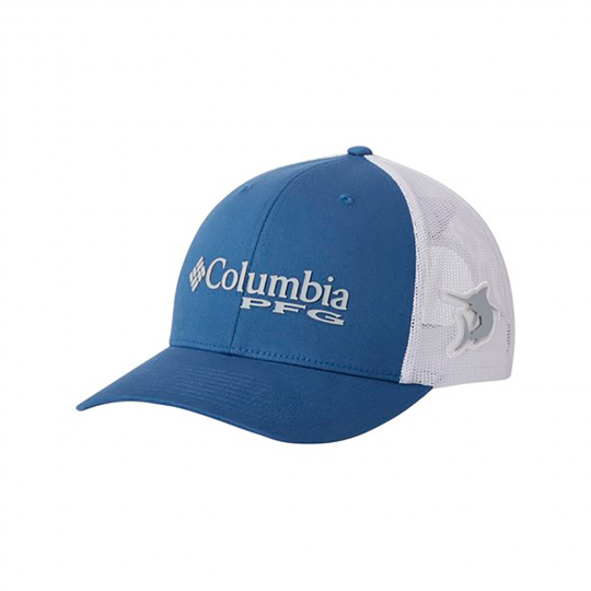 Boné columbia pfg mesh snap back impulse blue marlin