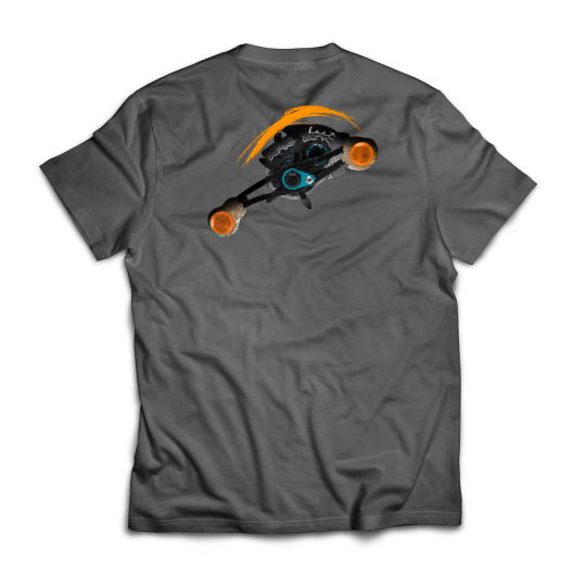 Camiseta bait fishing carretilha
