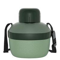 Cantil térmico invicta enjoy sports 500 ml tons de verde