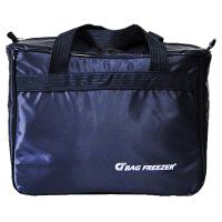 Bolsa bag freezer térmica 14 lts nylon azul