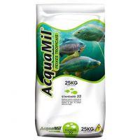 Ração acquamil 25 kg peixes tropicais