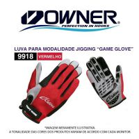 Luva cultiva game glove red
