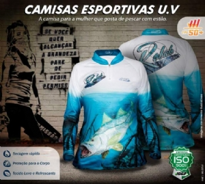 CAMISA JOGÁ FISHING COLECTION - ROBALO