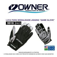 LUVA CULTIVA GAME GLOVE BLACK