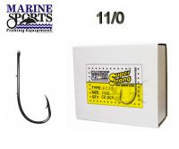 ANZOL MARINE SPORTS 4330 SUPER STRONG 11/0 CAIXA COM 50 PÇS