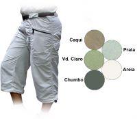 Calça capri wind mtk - feminina - cor: verde - tam: 36