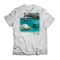 Camiseta bait fishing pier snook