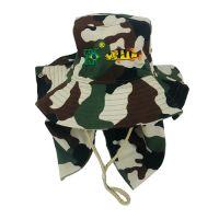 Chapéu ebf australiano micro-fibra c- proteção camuflado