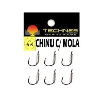 Anzol technes chinu com mola