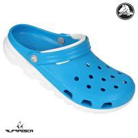 Calçado crocs duet max azul-branco