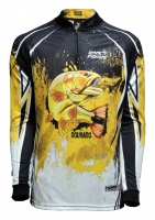 CAMISETA RKF ACTION FISH 50 UV DOURADO DO RIO