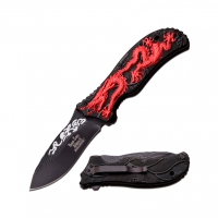 Canivete Ballistic DS-A042RD Dark Side Blades Red