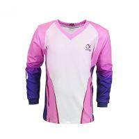 Camiseta infantil fnr evo kids girl rosa