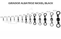 Girador albatroz black nickel nº 1