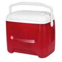 Caixa térmica igloo island breeze 26 lts vermelho