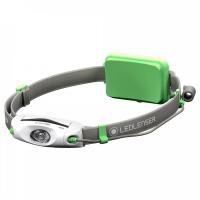 Lanterna de cabeça led lenser neo 4 verde