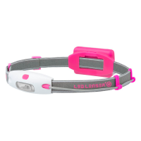 Lanterna de cabeça led lenser neo 6112 rosa