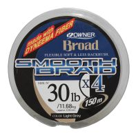 Linha mono owner smooth braid x4 150 m