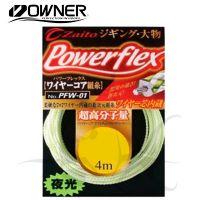 Linha de kevlar glow zaito power flex pfw-01