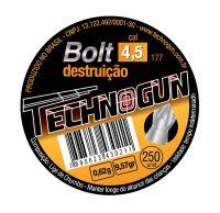 Chumbinho technogun bolt destruição 4.5