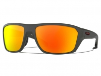 ÓCULOS OAKLEY SPLIT SHOT MATTE HEATHER GREY PRIZM RUBY POLARIZED