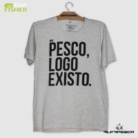 Camiseta for fisher pesco logo existo