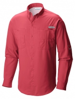 CAMISA COLUMBIA M/L TAMIAMI II TAM. M 683-SUNSET RED