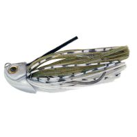 RUBBER JIG QU-ON VERAGE SWIMMER JIG 5/8 OZ REAL HOLO SHINER