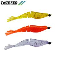Camarao big ones twister 8 cm 17-smoke one