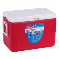 Caixa termica coleman 28 qt performance chest vermelho