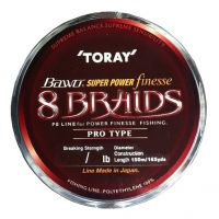 LINHA TORAY BAWO SUPER POWER FINESSE 150 M