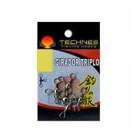 Girador triplo technes