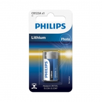 Bateria philips cr123 a x1 3v