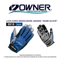 LUVA CULTIVA GAME GLOVE BLUE