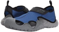 Crocs swiftwater sandal blue jeans-slate grey