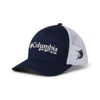 Boné columbia pfg mesh snap back dark turquoise marlin