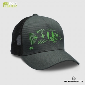 Boné tucunaré tribal verde