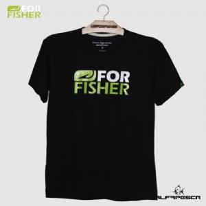 Camiseta for fisher preta