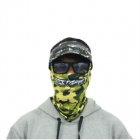 Buff rock fishing rock mask camuflado verde