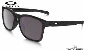 ÓCULOS OAKLEY CATALYST WOODGRAIN - PRIZM DAILY POLARIZED
