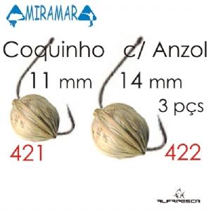 Ração artificial coquinho c- anzol miramar