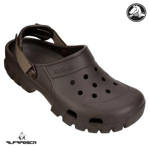 Calçado crocs offroad marrom