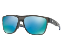 ÓCULOS OAKLEY CROSSRANGE XL GREY SMOKE - PRIZM DEEP H20