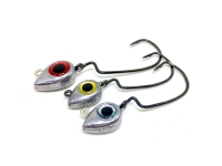 JIG HEAD BIG ONES BIG EYE TWISTER 4/0 - 10 GRAMAS