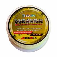 Linha monofilamento starmex duranium 300 metros yellow