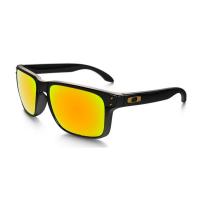 Óculos oakley holbrook iridium preto 24k