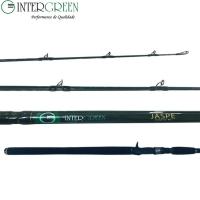 Vara intergreen jasper cast 8´ 15-30-40 lbs 1-2-3 oz.