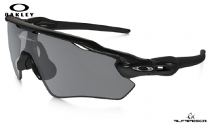 ÓCULOS OAKLEY RADAR EV PATH POLISHED BLACK - BLACK IRIDIUM POLARIZED