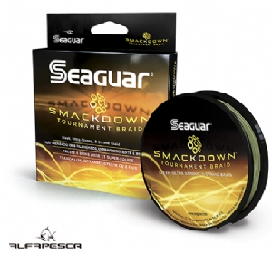 LINHA MULTIFILAMENTO SEAGUAR SMACKDOWN TOURNAMENT GREEN 137 M